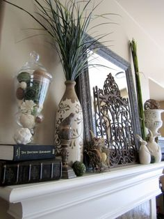 life in the loop » Blog Archive » Summer Mantel