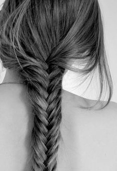 fishtail braids, so pretty and so easy