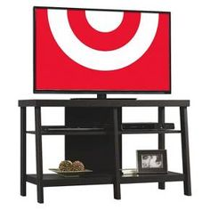 "Open Shelf TV Stand 45"" - Threshold™ : Target"