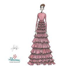 Podríamos decir que es nuestro favorito. Nuevas tendencias en moda flamenca Os atrevéis? Puedes ver el patrón en nuestra web . . . . #Patronesmodaflamenca #PatronistaFlamenca #modaflamenca #lunares#volantes #feria #andalucia #moda #diseñomodaflamenca #Hoymesientoflamenca #trajedegitana #trajesdeflamenca