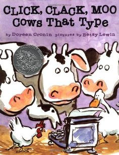 A lesson for students on Negotiation using the book Click, Clack Moo.