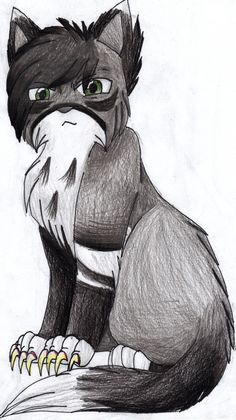 Thistleclaw, born in Thunderclan, taught Tigerstar cruelty as his mentor, killed Antpelt and others, tom.