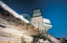 Durbach Block Architects designed the award winning House Holman in 2004-Sidney- Australia