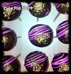 Cool design cake pops