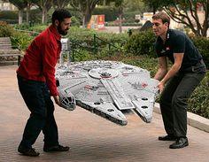 Star Wars Han Solo's Spaceship Millenium Falcon
