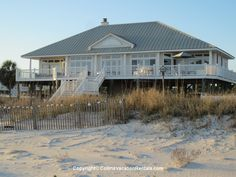 The Beach House ~ East End ~ Beach Front ~ St. George Island Florida - Collins Vacation Rentals