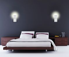 A 1-light led wall sconce from the Delroy collection