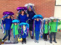 School of Jellyfish - 2015 Halloween Costume Contest via @costume_works
