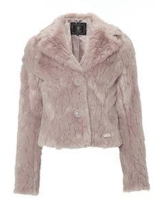 Lipsy Faux Fur Cropped Jacket