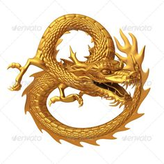 Golden dragon circle ...  ancient, animal, art, asia, asian, background, celebration, china, chinese, culture, decoration, design, dragon, east, faith, fantasy, festival, fly, gold, golden, illustration, isolated, lucky, new, oriental, ornament, red, religion, render, sculpture, shiny, statue, style, symbol, temple, tradition, traditional, wealth, year, zodiac