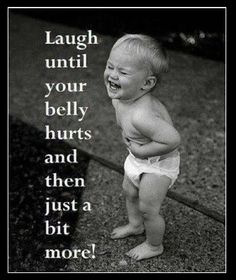 laughing can always make someone feel better even when they are having a rough day :)
