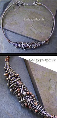 Necklace    Stacy Perry - Hodgepodgerie.  Urban Renewal Choker LOVE THIS, although would prefer it as a bracelet...