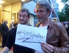 Mads & Hannibal.....#SaveHannibal