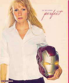 Pepper Potts: businesswoman, heroine, philanthropist, proof that Tony Stark has a heart, all-around BAMF and imperfectly perfect.