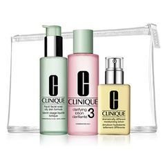 Clinique 3 Step is the perfect facial care regimen. It's so simple and keeps my skin looking and feeling beautiful.