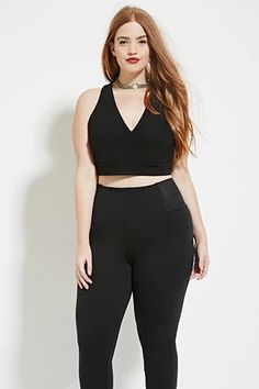 Plus Size Halter Crop Top | Forever 21 PLUS #forever21plus