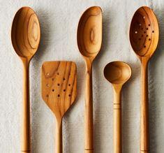 Five Two Wooden Spoons, Teak Wood, Kitchen Tool Cooking Utensils, Kitchen Utensils, Kitchen Tools, Kitchen Gadgets, Kitchen Rules, Kitchen Supplies, Kitchen Stuff, Kitchen Hacks, Big Dipper