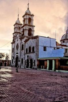 Iglesia San Francisco, en la colonial y romántica #Saltillo, en #Coahuila, al norte de #Mexico.