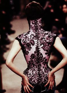 Mr Pearl for McQueen... complete perfection. did not know Mr. Pearl made this.