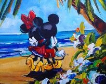 Disney Limited Edition titled Afternoon Stroll by Steve Barton