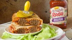 Easy Meatball Sandwich