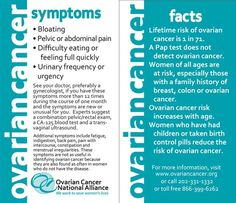 Spread awareness of ovarian cancer symptoms with these business-card size Symptom Cards. Perfect for handing out at events!