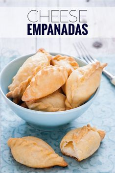 Found throughout Ecuador this cheese empanadas recipe is so easy to make and delicious too. ~ http://www.baconismagic.ca