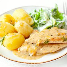 Baby Food Recipes, Chicken Recipes, Cooking Recipes, Potato Salad, Poultry, Dinner, Ethnic Recipes, Breakfast, Potatoes