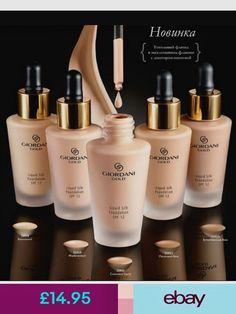 Oriflame Giordani Gold Ultra Fluid Liquid Foundation SPF New No Foundation Makeup, Liquid Foundation, Giordani Gold Oriflame, Lip Gloss Containers, Gold G, Oily Skin, Eyeliner, Health And Beauty, Perfume Bottles
