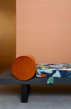 Daybed Lavastone, Charlotte Juillard // Collection Signature - 567 Tropical