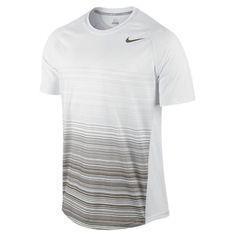 Men`s Advantage UV Stripe Tennis Crew