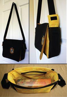 Lufa Lufa bolsa / Harry Potter tema/acessórios    Harry Potter theme / Harry Potter acessories / Hufflepuff Bag