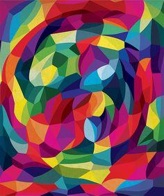 geometry organic --- color! movement, ooh-la-la!