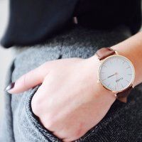 Stay classy! Thanks for sharing @marcelkaaa #cluse #watches #sharing #classy #brown #white #outfit #fashion