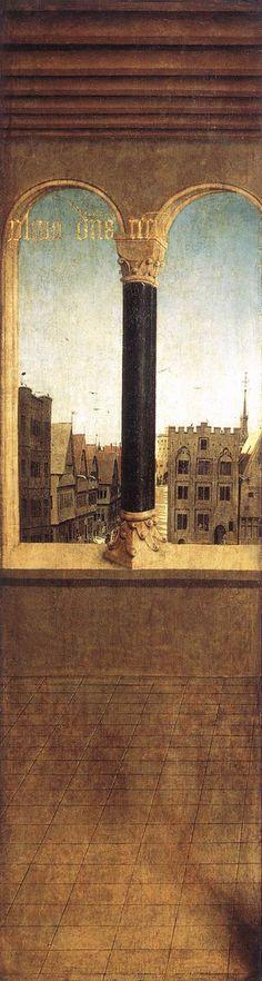 The Ghent Altarpiece (detail)  - Jan van Eyck