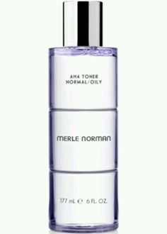 AHA Toner available now at Merle Norman Cosmetics and Day Spa Elizabethtown, KY 270.765.6988