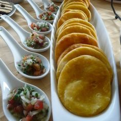 """""""Sopaipilla"""" is a famous chilean food and one of my favorite food, first because it's easy to cook and also because it's very tasty. Sometimes """"sopaipillas"""" taste a little bland but you can mix them with pebre. Mexican Food Recipes, Real Food Recipes, Great Recipes, Cooking Recipes, Yummy Food, Tasty, Latin American Food, Latin Food, Gastronomia"""