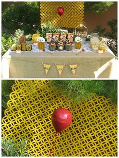 Winnie the Pooh party!! :) :)