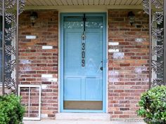 Painted Storm Door Didnu0027t Chip Or Peel