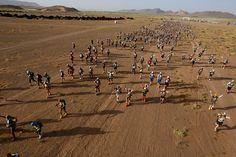 Marathon des Sables 2015: Mäs del 93% de finalistas en meta. Foto: Organización.