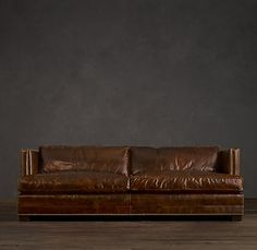 this is a leather sofa from restoration hardware that i love if anyone has ever