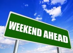 Nutrisystem provides a list of six simple things to do this weekend if you want to lose weight and live healthier. Whats Happening This Weekend, To Do This Weekend, Weekend Sale, Happy Weekend, Happy Friday, Filofax Malden, Weekend Events, Fun Events, School Sets