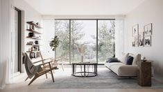 A Modern Retreat in the Stockholm's Archipelago