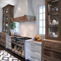 not sure how i feel about the cabinetry around the stove, but peaked my interest enough to pin