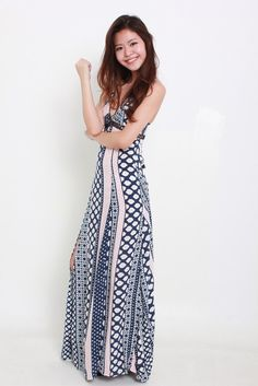 CHERIE MAXI DRESS by Angel Biba available from www.bellablizz.com