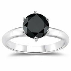 1.00 Ct of 5.65-6.37 mm A Round Black Diamond Engagement Ring in Silver, http://www.amazon.com/dp/B00BOLQ9XG/ref=cm_sw_r_pi_awd_rvPxsb12G569C