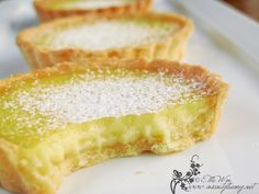 Lemon Tart. Something I need to try