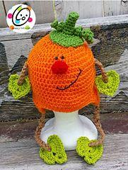 Ravelry: Patrick Pumpkin Hat pattern by Heidi Yates