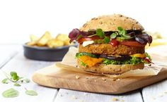 Beantastic burgers - VeganChallenge