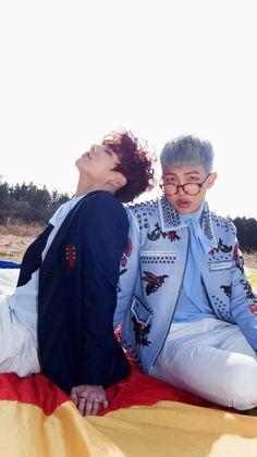 Jungkook and Rap Monster- BTS Young Forever Concept Photos Namjoon, Taehyung, Seokjin, Rapmon, 2ne1, Foto Bts, Busan, Got7, Bts 2013